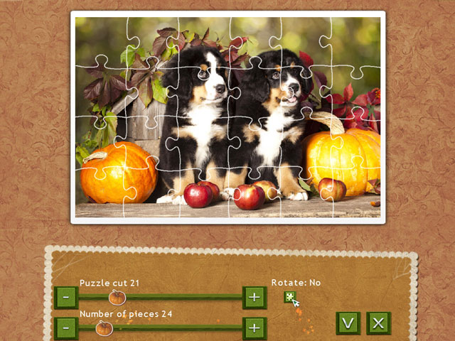 Holiday Jigsaw Thanksgiving Day large screenshot