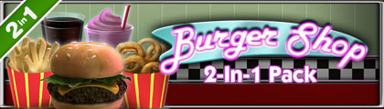 Burger Shop 2-In-1 Pack screenshot