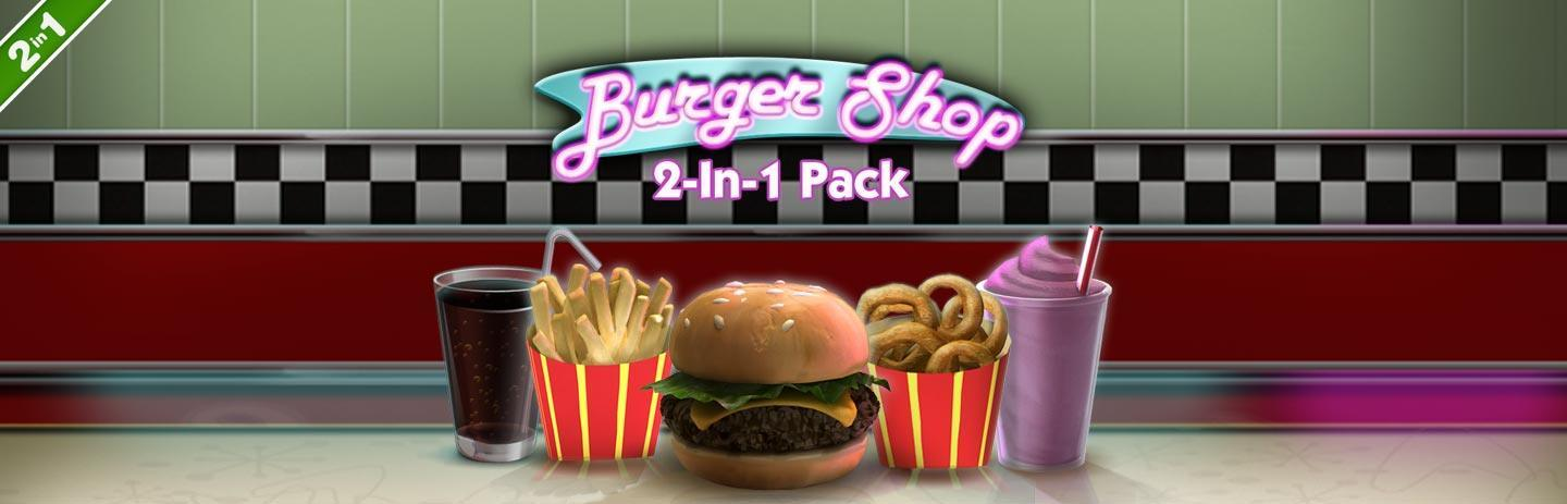 Burger Shop 2-In-1 Pack