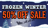Christmas Sale - Frozen Theme