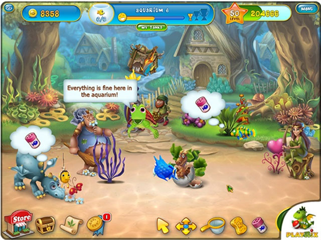 Fishdom: Depths of Time Collector's Edition large screenshot