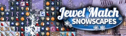Jewel Match Snowscapes screenshot