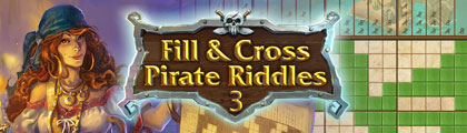 Fill & Cross Pirates Riddles 3 screenshot