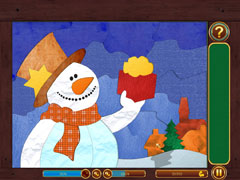 Christmas Patchwork - Frozen thumb 1