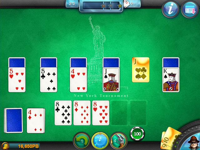 Royal Flush Solitaire large screenshot