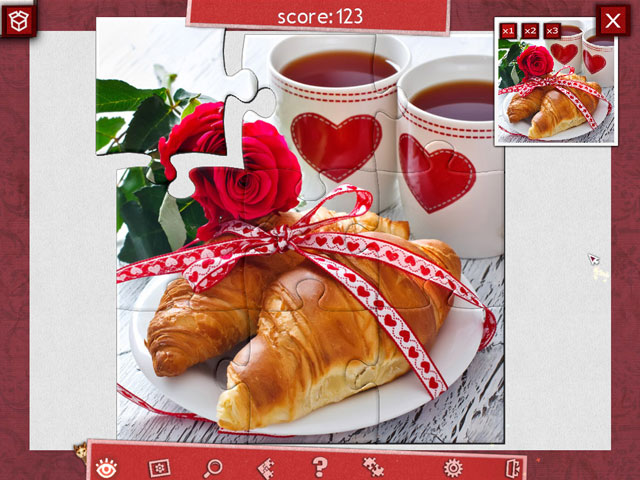 Holiday Jigsaw - Valentine's Day 2 large screenshot