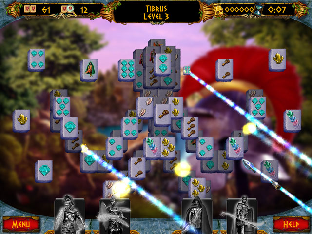 7 Hills of Rome: Mahjong large screenshot