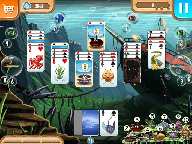Atlantic Quest Solitaire large screenshot