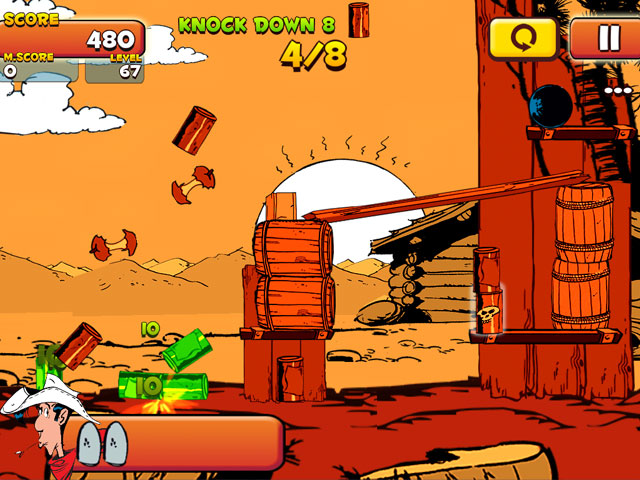 Lucky Luke: Shoot & Hit large screenshot