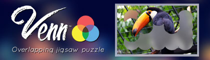 Venn - Overlapping Jigsaw Puzzle screenshot