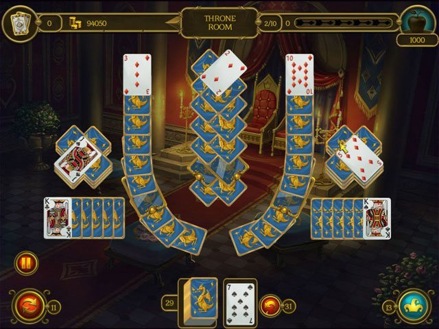 Knight Solitaire 3 large screenshot