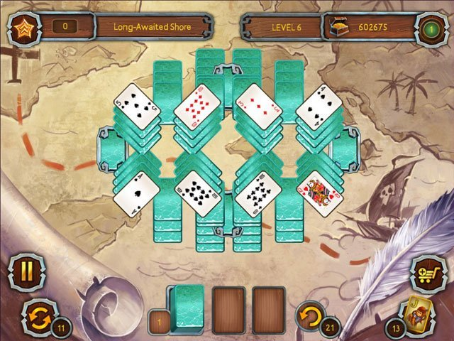 Pirate's Solitaire 3 large screenshot