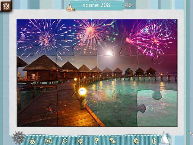 Jigsaw Puzzle - Beach Season large screenshot