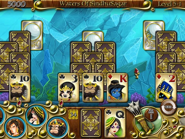 Solitaire Stories - The Quest for Seeta large screenshot