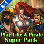 Play Like a Pirate Super Pack
