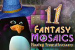 Download Fantasy Mosaics 11: Fleeing from Dinosaurs Game