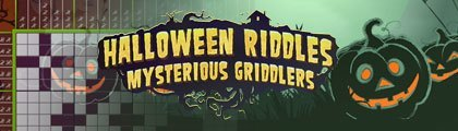 Halloween Riddles - Mysterious Griddlers screenshot