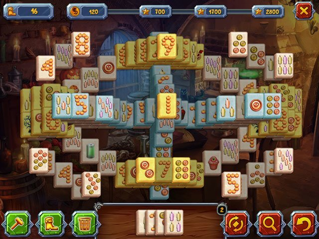 Halloween Stories: Mahjong large screenshot