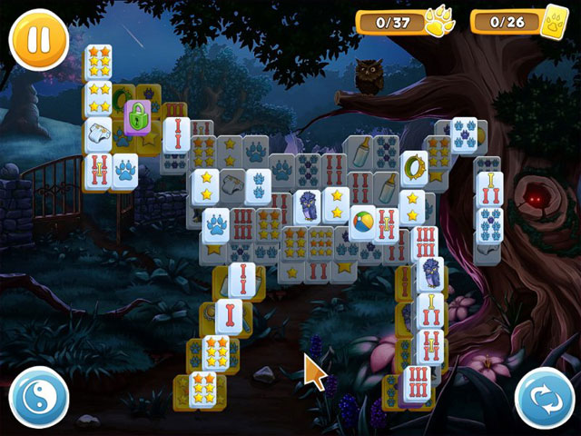 Mahjong Wolf's Stories large screenshot