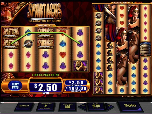 WMS Spartacus large screenshot