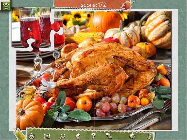 Holiday Jigsaw Thanksgiving Day 2 large screenshot
