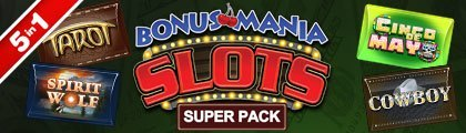 Bonus Mania Slots Super Pack screenshot