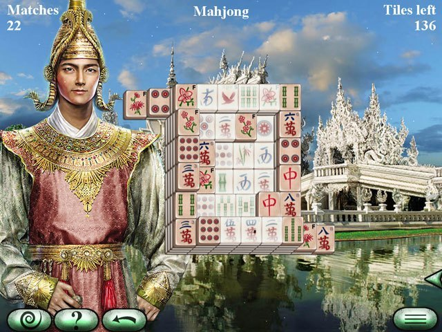 World's Greatest Temples Mahjong 2 large screenshot