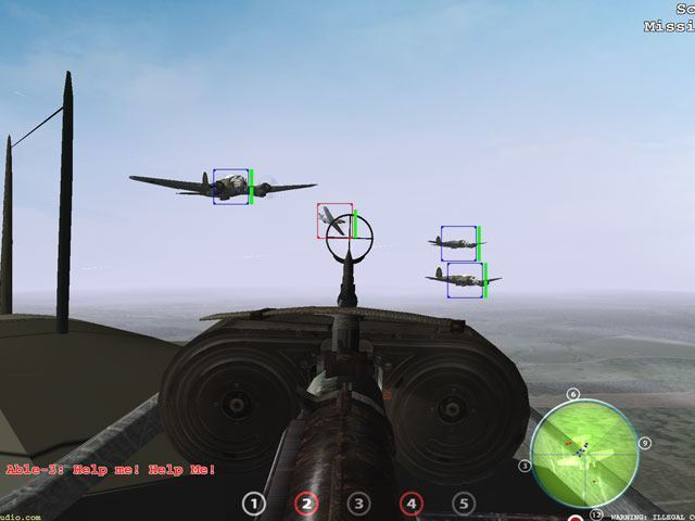 WW2 Tail Gunner large screenshot
