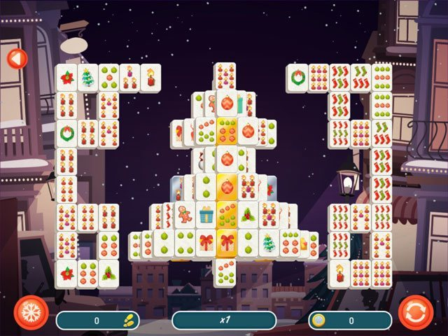 Mahjong Christmas 2 large screenshot