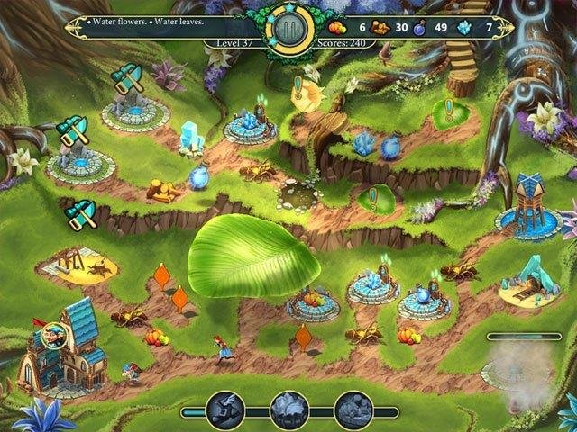 Elven Legend 2: The Bewitched Tree large screenshot
