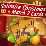 Solitaire Christmas - Match 2 Cards
