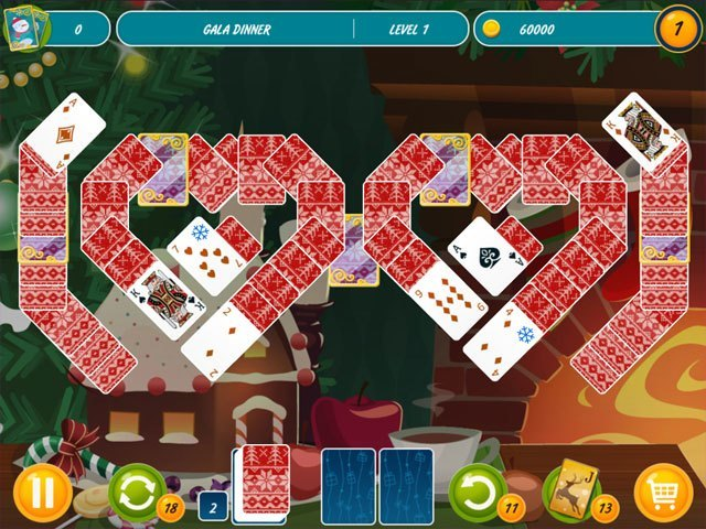 Solitaire Christmas - Match 2 Cards large screenshot