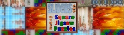Sliders & Other Square Jigsaw Puzzles screenshot