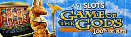 IGT Slots: Game of the Gods screenshot