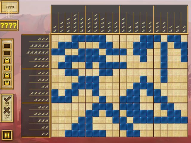 Egypt Picross - Pharaoh's Riddles large screenshot