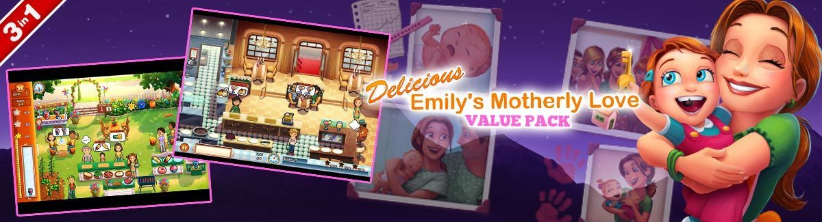 Delicious - Emily's Motherly Love Value Pack