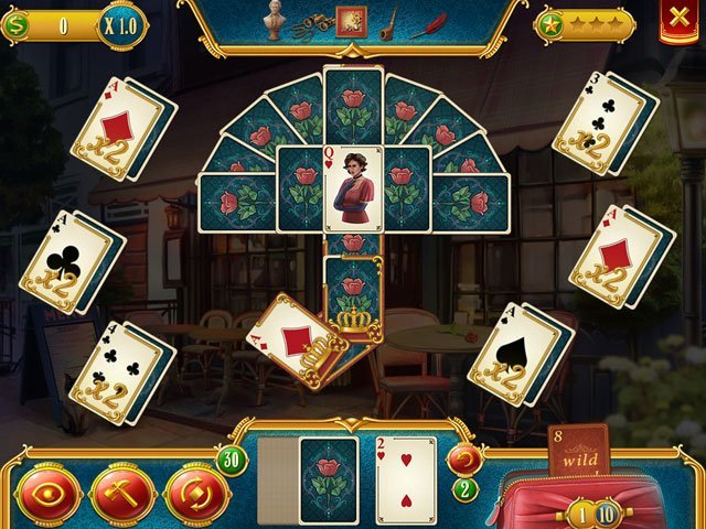 Solitaire Detective: The Frame-Up large screenshot