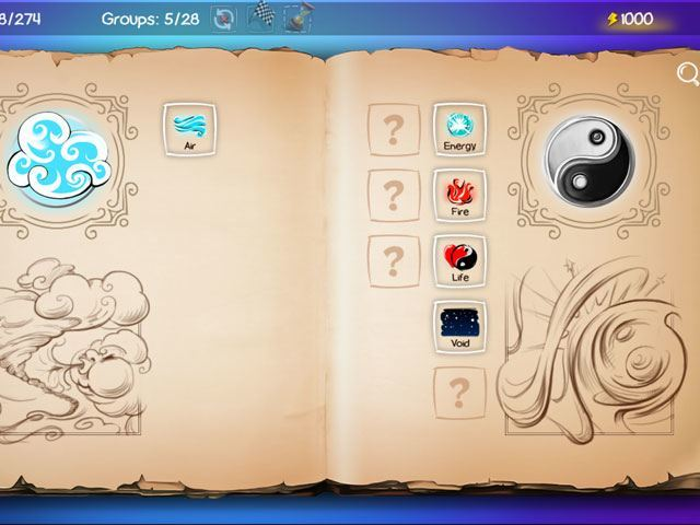 Doodle God: Fantasy World of Magic large screenshot