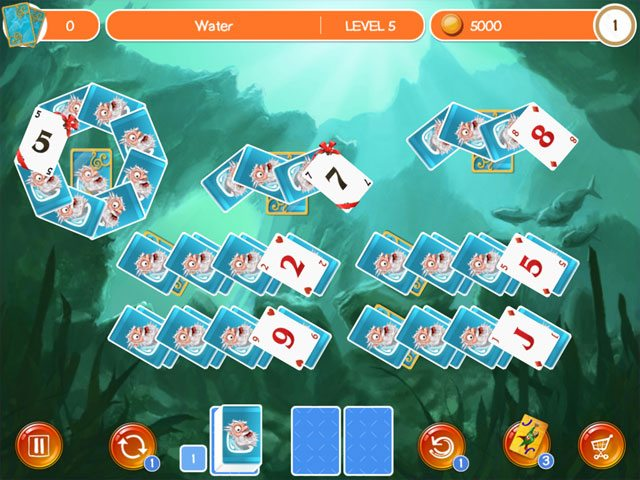 Doodle God Solitaire large screenshot