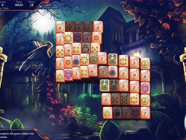The Mahjong Huntress large screenshot