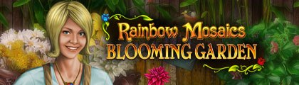 Rainbow Mosaics: Blooming Garden screenshot