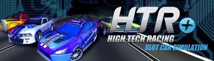 High Tech Racing Slot Car Simulation screenshot