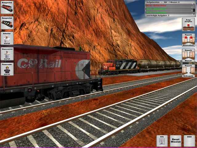 Rail Cargo Simulator large screenshot