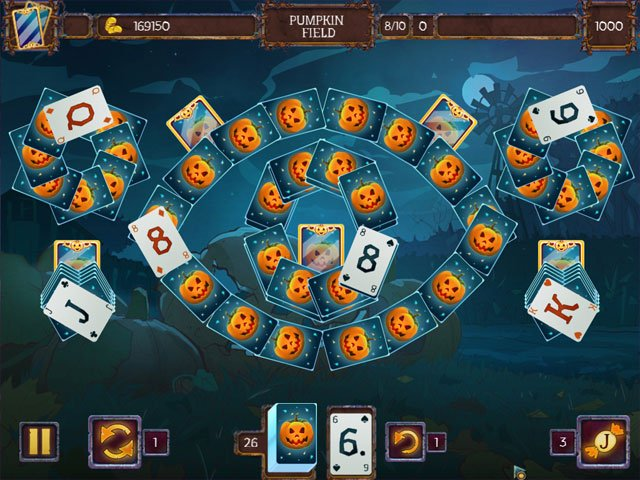 Solitaire Game Halloween 2 large screenshot