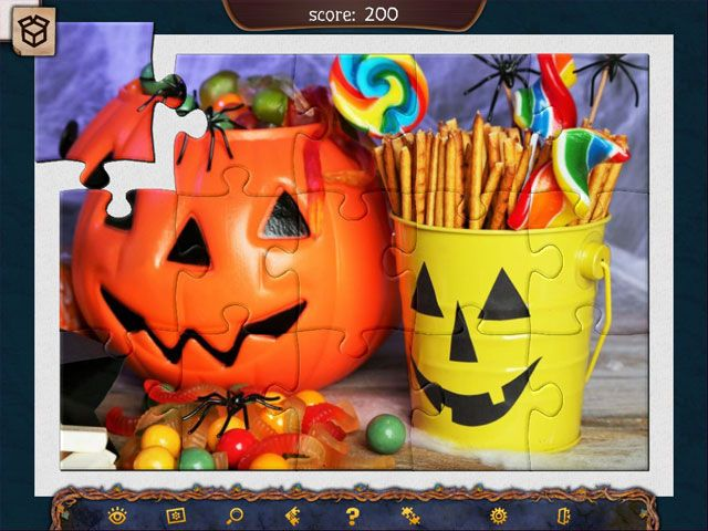 Holiday Jigsaw Halloween 4 large screenshot