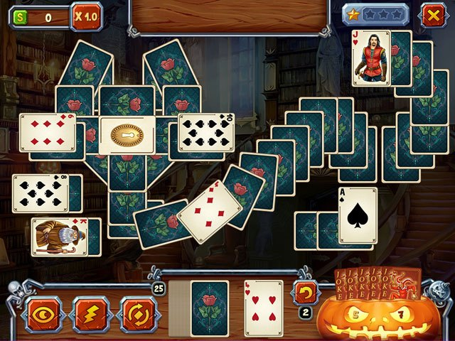 Spooky Solitaire: Halloween large screenshot