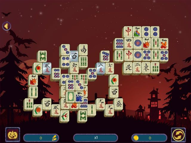 Halloween Night Mahjong 2 large screenshot