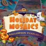 Holiday Mosaics - Halloween Puzzles