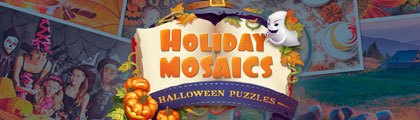 Holiday Mosaics - Halloween Puzzles screenshot