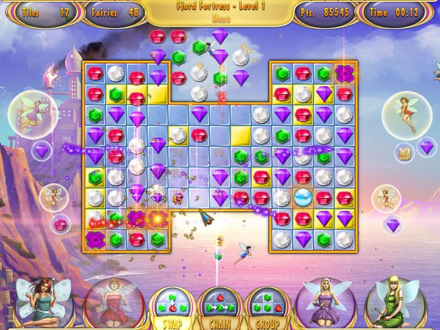 Fairy Quest Match 3 Double Pack large screenshot